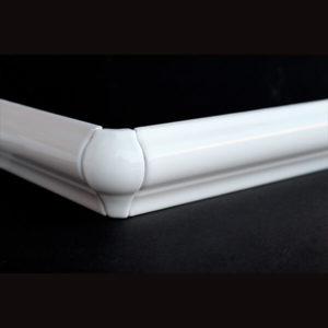 Ángulos molduras cerámicas curvas