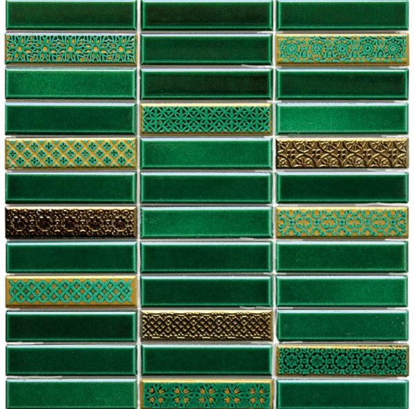Mosaico Tesela rectangular 29.7 x 29.7