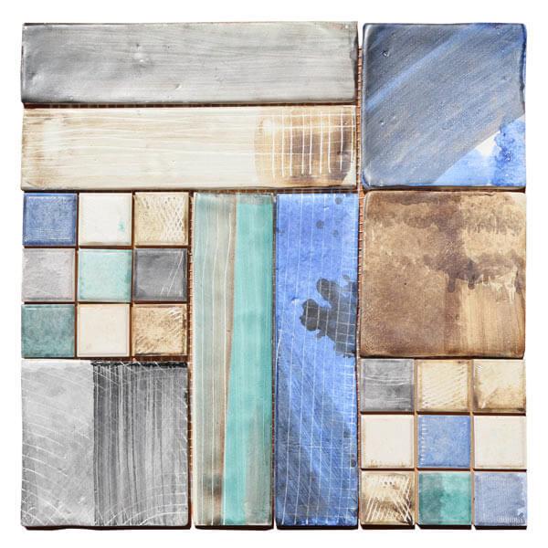 Azulejo pintado a mano mosaico lucas