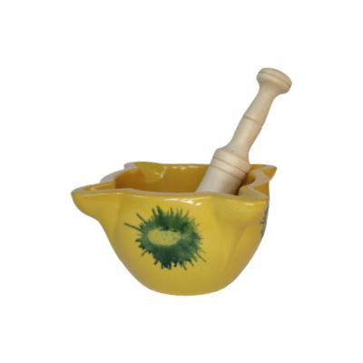 Mortero amarillo